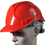 Model #141 HDPE Safety Helmet with Vent Holes