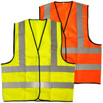 Model #9534 Hi-Viz Vest with CE ISO EN20471 Certificate