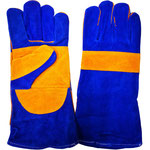 Model L1350P Reinforced Thumb, Palm and Knuckle, 14' Long, Grade A/B Cowhide Leather