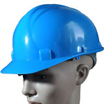 Model #101 Economic Style HDPE Safety Helmet