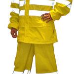 Model #7800HV-1 Hi-Viz PU Rain-Suit