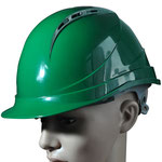 Model #109 ABS Safety Helmet with Closable Vent Holes
