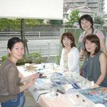 ここからスタート 浦和県庁前の東電の会場で。