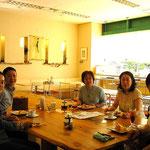 最初の懐かしい教室です。東京電気の浦和のグリーンショップのお店を貸して頂いておりました