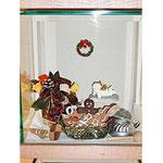 プリザーブドフラワー シーズナルデコレーション クリスマスディスプレイ