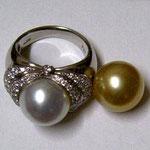 白蝶真珠のデザインと同じ物をとのオーダーです。