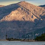Blick auf das Biokovo Gebirge
