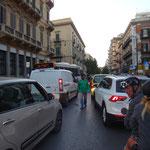 mit dem Roller durch Palermo