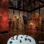 とおの物語の館「昔話蔵」展示風景(Tono Folktale Museum Mukashibanashi-kura)photography by Satoshi Asakawa
