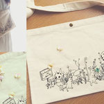 コラボバッグ with La Ronde Des Fees(ラロンドデフェ): collaboration bag with La Ronde Des Fees