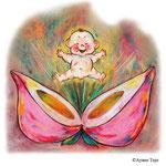 とおの物語の館「昔話蔵」桃太郎イラストレーション (Tono Folktale Museum Mukashibanashi-kura)