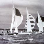 WC 1963 Long Island Sound Zieleinlauf