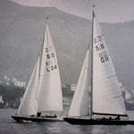 Chaje und Bronia 1964 in Genua