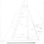 Sailplan, 5.5m, B.Aas