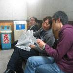 2010.10.10 refuge isesaki ライブ前の待合室