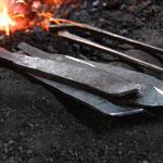 作業工程2 熱間加工(火作り)その1