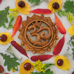 Blätter Mandala /Yoga im Zentrum fernöstliche Lebenskunst Gotha