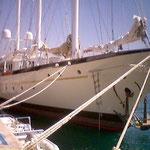 lignage sur bateau