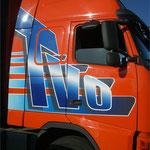Décoration de camion impression numérique OVT