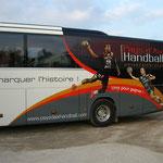 Décoration de bus impression numérique PAUC Aix
