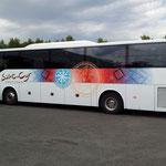 Pose ST Cyr Tourisme pour Graphibus