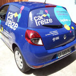 Pose Car treize total covering pour Graphibus