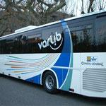 Décoration de bus adhésif charte VARLIB