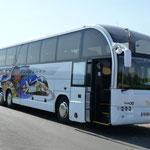 Décoration de bus impression numérique SATV