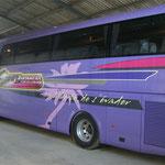Décoration de bus impression numérique 3b Voyages