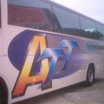 Décoration de bus impression numérique ATT aix
