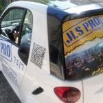 décor publicitaire véhicule impression numérique grand format