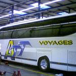 Décoration de bus impression numérique ATT