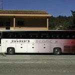 Décoration de bus à l'aérographe BLANC