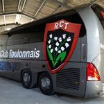 Décoration de bus impression numérique Bus RCT (maquetteRCT)