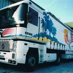 Décoration de camion aérographe HOBBY CAT