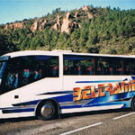 Décoration de bus à l'aérographe BELTRAME