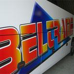 Décoration de bus impression numérique BELTRAME