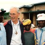 Frère Othmar Würth (FEC), Gründer des 1988 in Butare/Ruanda ins Leben gerufenen Strassenkinderzentrums Centre Intiganda.