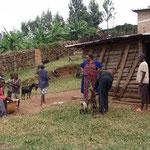 Au Centre Intiganda règne un esprit de communauté et responsabilité. Aussi les chèvres méritent respect et soins.