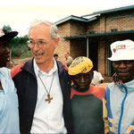 Frère Othmar Würth (FEC), founder of the Centre Intiganda, a centre for street children which opened in Butare, Rwanda in 1988.