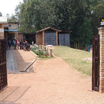 Gate to the Centre Intiganda, leading to safety and protection and a healthy childhood and adolescence.