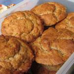 Banane-Walnuss-Muffins