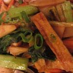 Gai Phad Khing Vegetarische Variante vegan