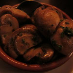 Frische Champignons (mariniert, mit einem Hauch Sherry)