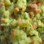 Kartoffelsalat, der Klassiker, mit Möhren neu interpretiert