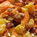 Fruchtiger Möhren-Rohkostsalat