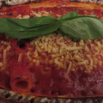 Tris Speciale al forno mit veganem Käse (Wilmersburger Pizzaschmelz)