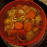 Udon Suppe (Nudelsuppe) Vegetarisch