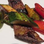 Nr. 62 Yaki Yasai (gegrilltes Gemüse, mit Öl statt Butter)