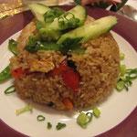 Khao Phad Gai Bai Kraphao Vegetarische Variante vegan